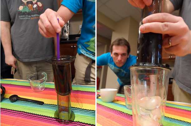 Aeropress Cold Brew Photos