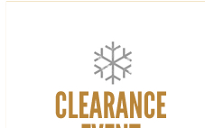 Clearance Event - Up to 50% Off