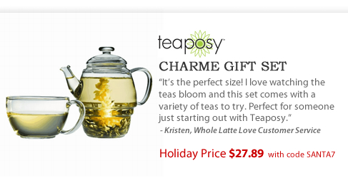 Teaposy Charme Gift Set - $27.89 with code SANTA7