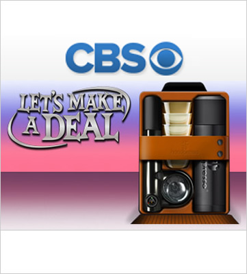 Handpresso Set on CBS Let's Make a Deal
