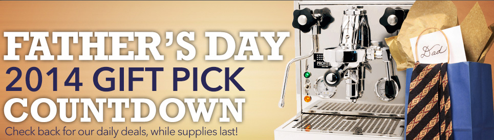 2014 Fathers Day Gift Pick Countdown